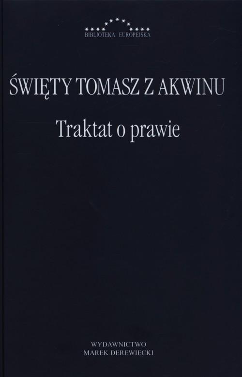 okładka Traktat o prawie, Książka | z Akwinu Tomasz