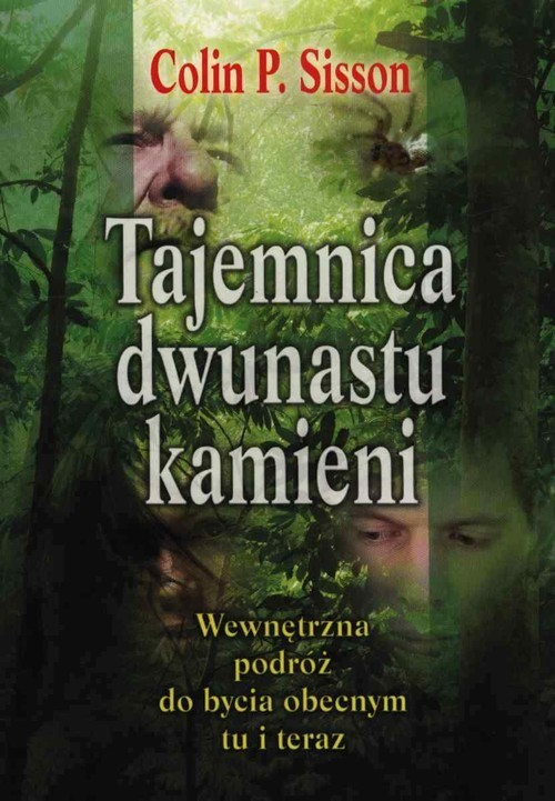 okładka Tajemnica dwunastu kamieni Wewnętrzna podróż do bycia obecnym tu i teraz, Książka | Colin P. Sisson