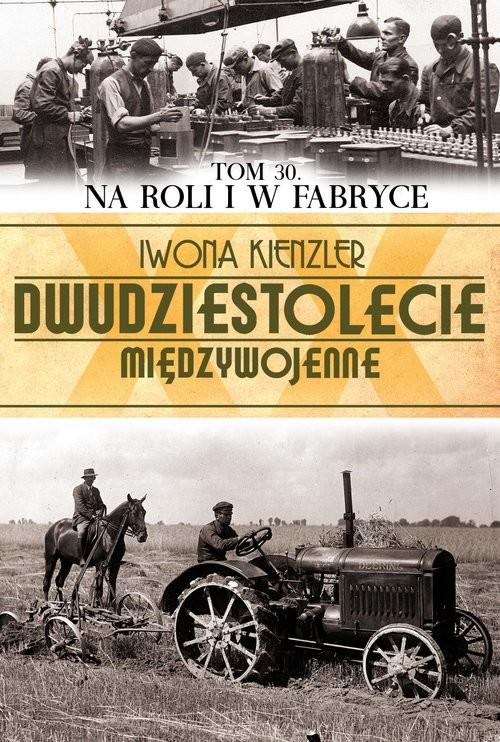 okładka Na roli i w fabryce, Książka | Iwona Kienzler