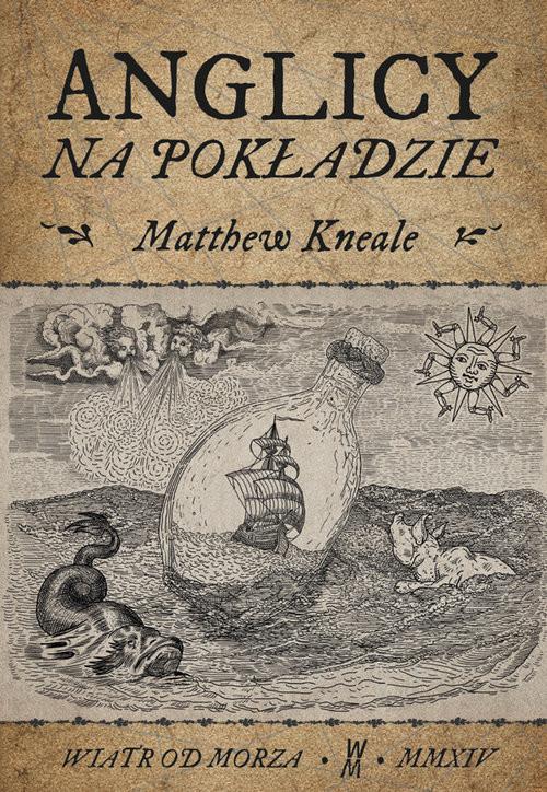 okładka Anglicy na pokładzie, Książka   Kneale Matthew