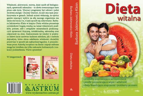 okładka Dieta witalna, Książka | Jakimowicz-Klein Barbara