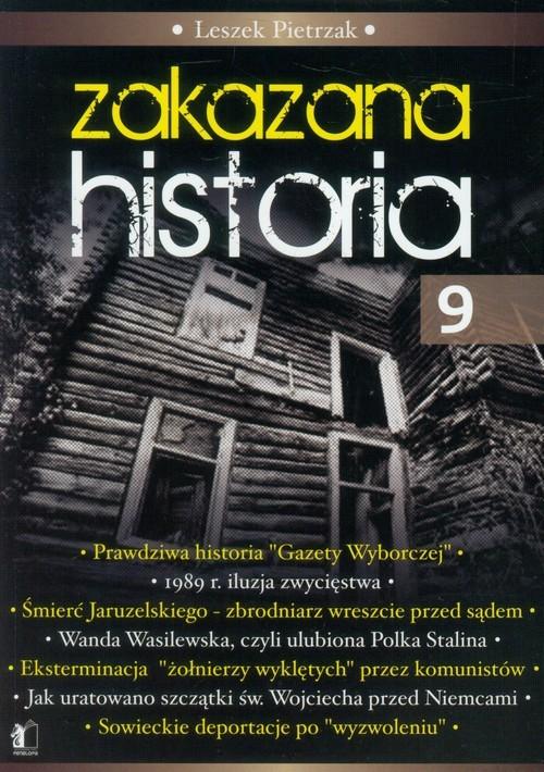 okładka Zakazana historia 9, Książka | Leszek  Pietrzak