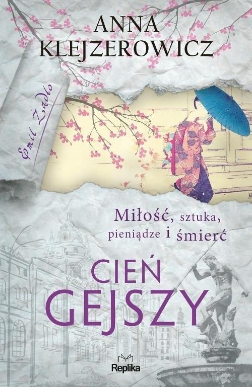 okładka Cień gejszy, Książka | Anna Klejzerowicz
