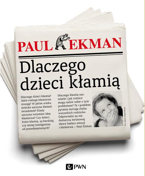 okładka Dlaczego dzieci kłamią, Książka | Ekman Paul