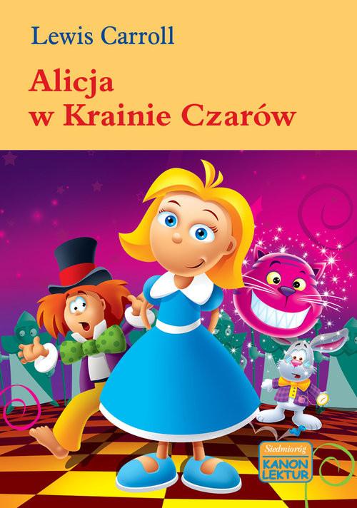 okładka Alicja w krainie czarów, Książka   Carroll Lewis
