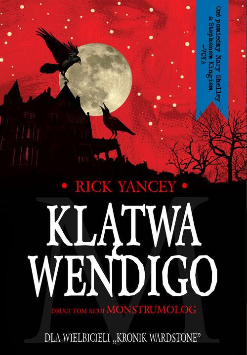 okładka Klątwa Wendigo, Książka | Yancey Rick