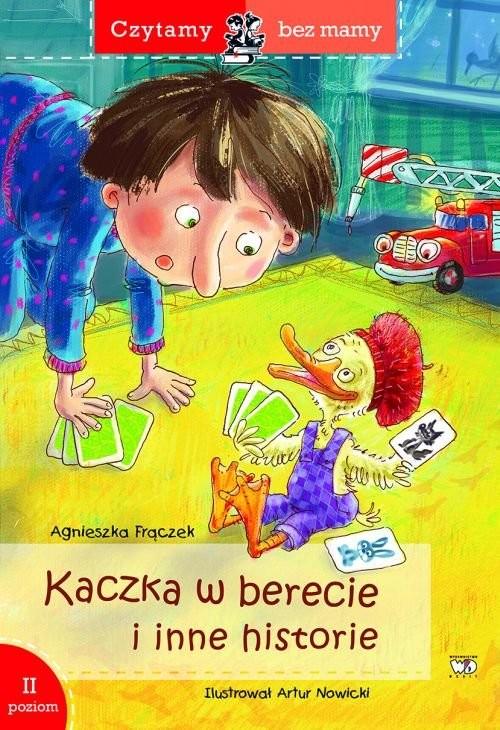 okładka Kaczka w berecie (2 etap czytania), Książka | Frączek Agnieszka