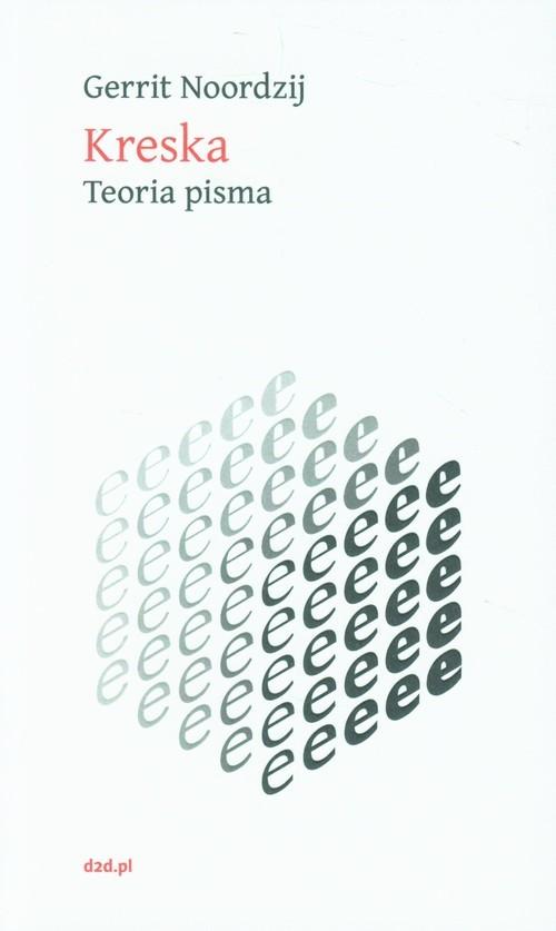 okładka Kreska Teoria pisma, Książka | Nordzij Gerrit