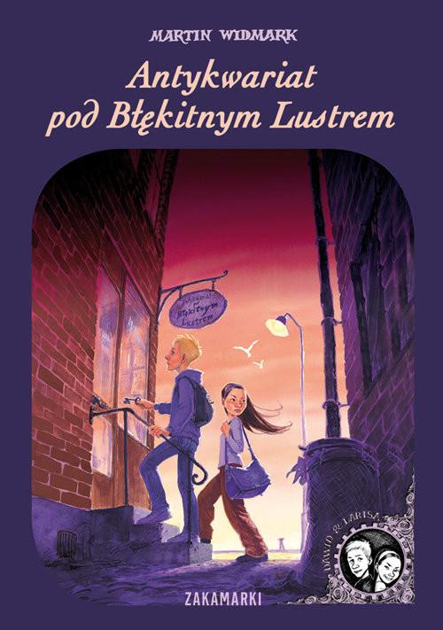 okładka Antykwariat pod Błękitnym Lustrem, Książka | Martin Widmark