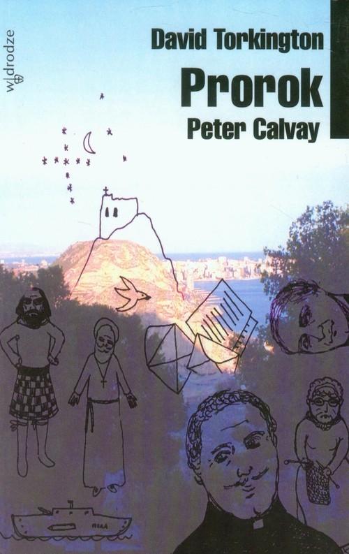 okładka Peter Calvay Prorok, Książka | Torkington David