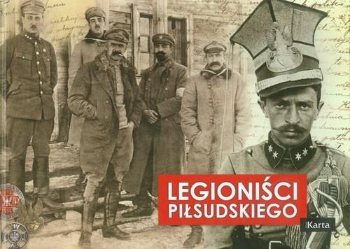 okładka Legioniści Piłsudskiego, Książka   Dylewski Adam