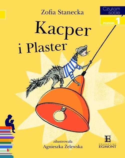 okładka Kacper i Plaster Poziom 1, Książka | Stanecka Zofia