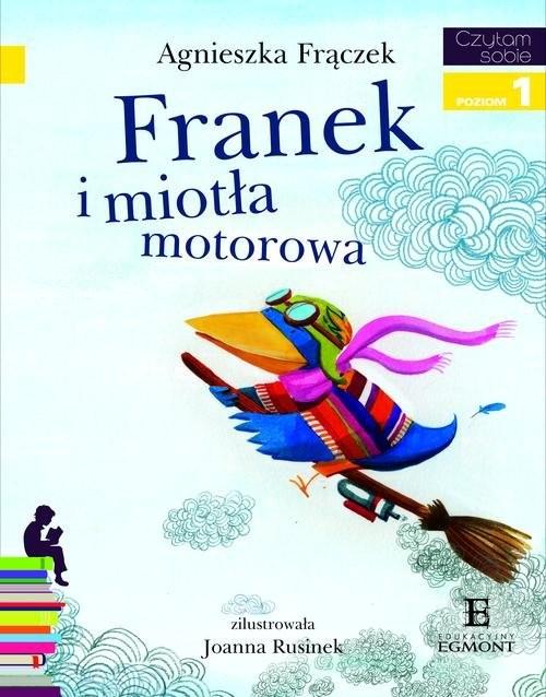 okładka Franek i miotła motorowa Poziom 1, Książka | Frączek Agnieszka