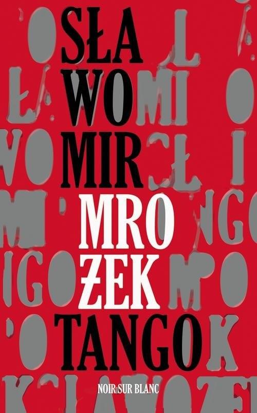 okładka Tangoksiążka      Mrożek Sławomir