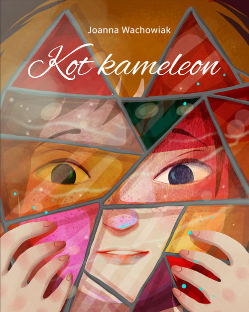 okładka Kot kameleon, Książka | Wachowiak Joanna