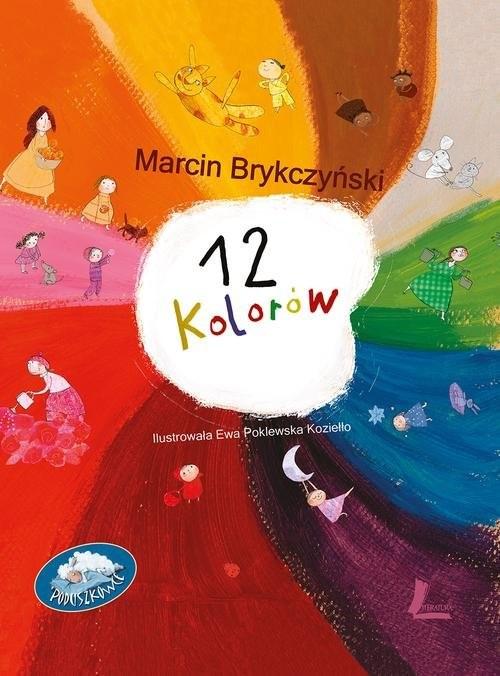 okładka 12 kolorów, Książka | Marcin Brykczyński