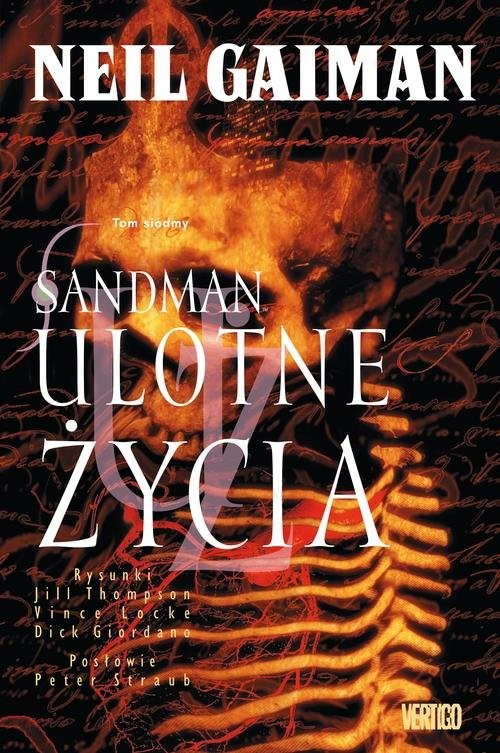 okładka Sandman Tom 7 Ulotne życia, Książka | Gaiman Neil