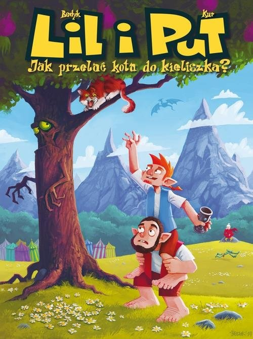 okładka Lil i Put Jak przelać kota do kieliszka Tom 1, Książka | Kur Maciej