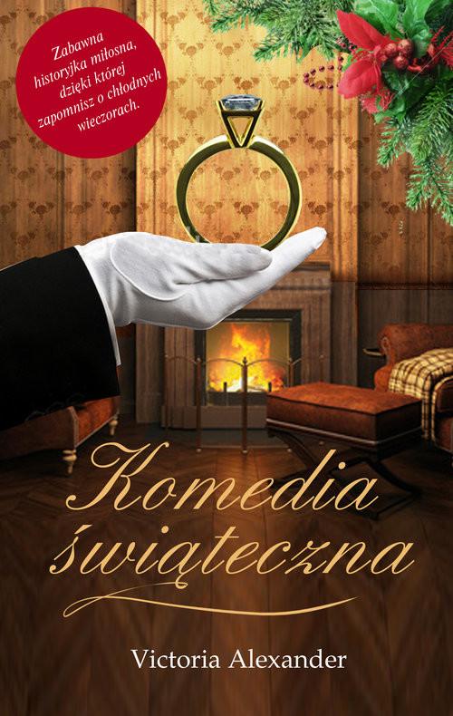 okładka Komedia świąteczna, Książka | Alexander Victoria