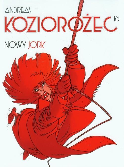 okładka Koziorożec 16 Nowy Jork, Książka   Andreas