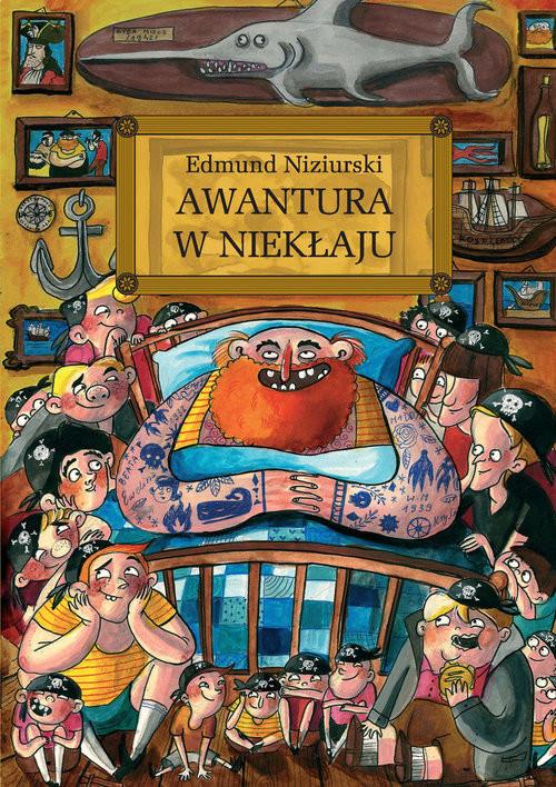 okładka Awantura w Niekłaju, Książka | Niziurski Edmund