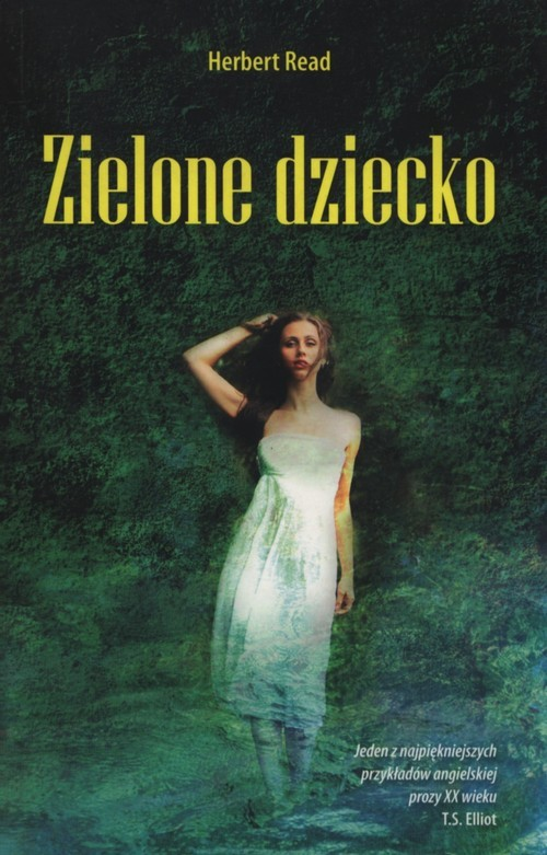okładka Zielone dziecko, Książka | Read Herbert