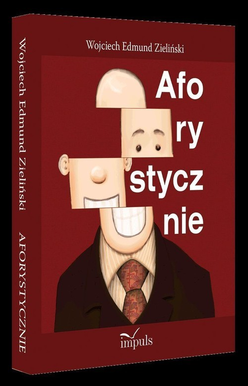 okładka Aforystycznie, Książka | Wojciech Edmund Zieliński
