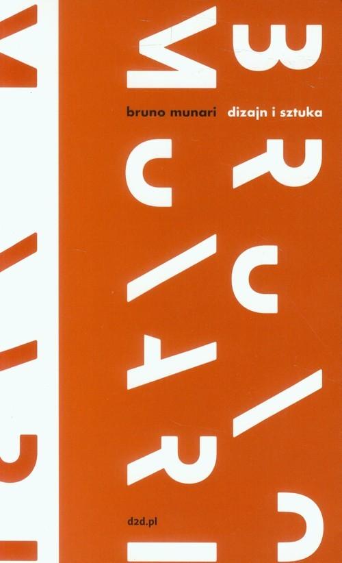 okładka Dizajn i sztuka, Książka | Munari Bruno