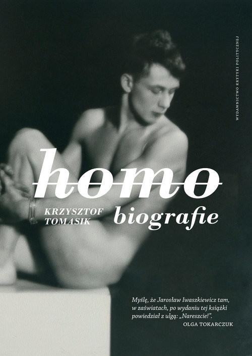 okładka Homobiografie, Książka | Krzysztof Tomasik