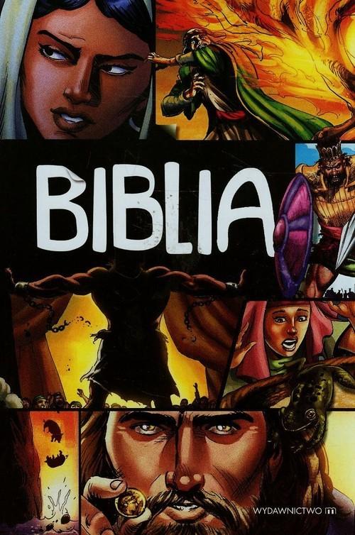okładka Biblia Komiks Boża historia odkupienia, Książka |