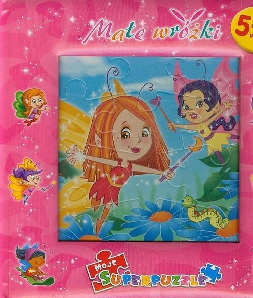 okładka Małe wróżki Super puzzle, Książka | Praca Zbiorowa