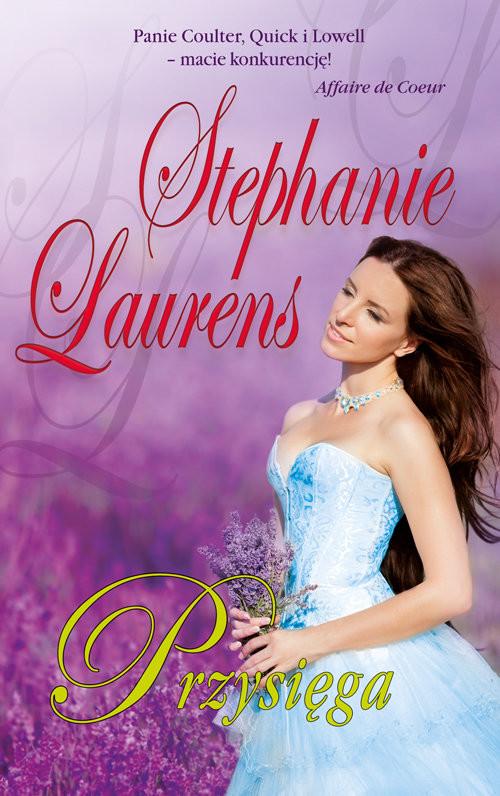 okładka Przysięga, Książka | Laurens Stephanie
