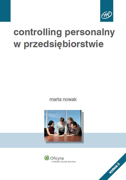 okładka Controlling personalny w przedsiębiorstwie, Książka | Nowak Marta
