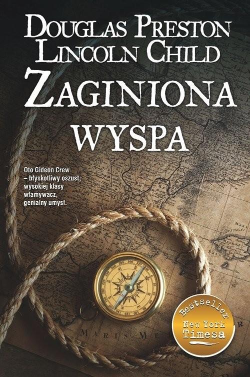 okładka Zaginiona wyspa, Książka | Douglas Preston, Lincoln Child