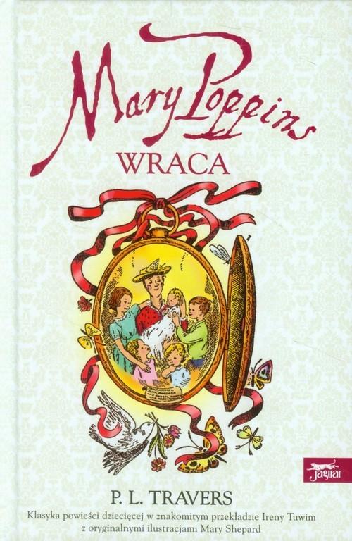 okładka Mary Poppins wraca, Książka | Pamela L. Travers