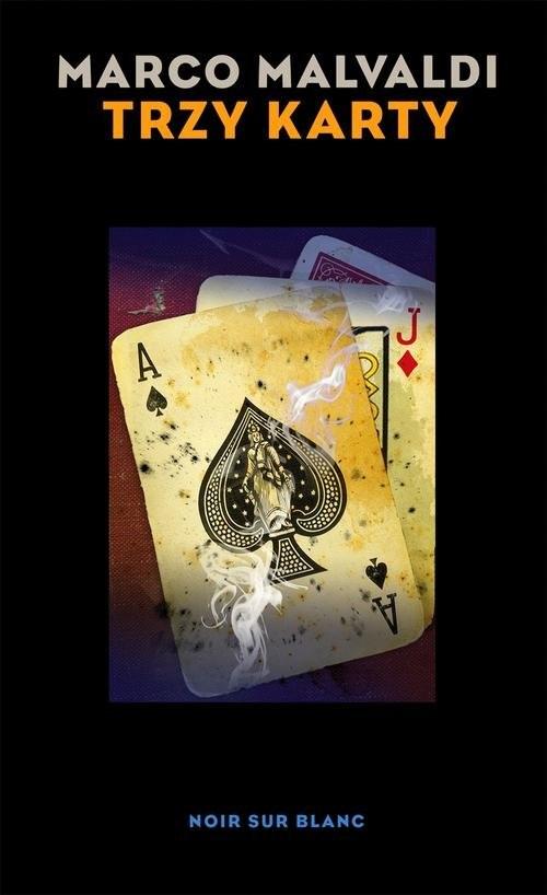 okładka Trzy karty, Książka | Malvaldi Marco