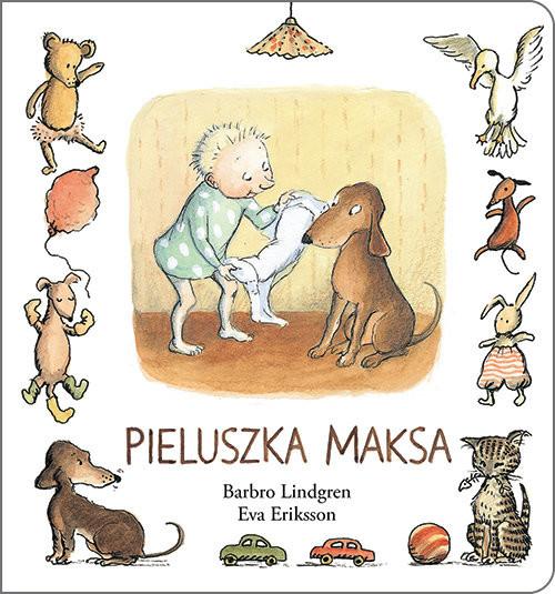 okładka Pieluszka Maksa, Książka | Barbro Lindgren