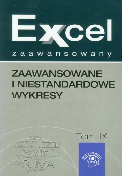 okładka Excel zaawansowany Zaawansowane i niestandardowe wykresy, Książka   Malina  Cierzniewska-Skweres, Jakub  Kudliński
