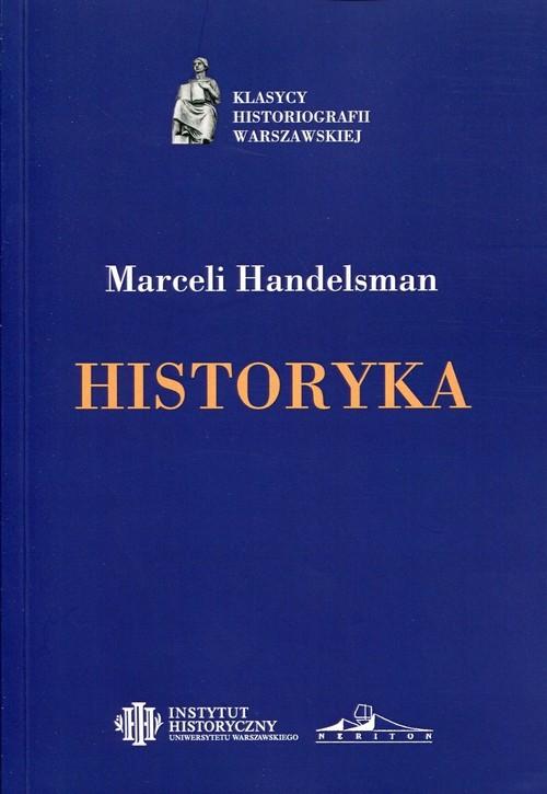 okładka Historyka, Książka | Handelsman Marceli