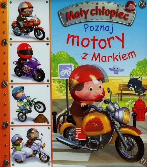 okładka Poznaj motory z Markiem, Książka | Emilie Beaumont
