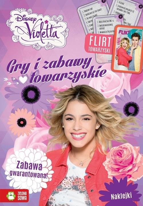 okładka Violetta Gry i zabawy towarzyskie, Książka | Praca Zbiorowa