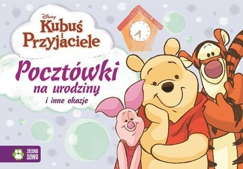 okładka Kubuś i przyjaciele Pocztówki na różne okazje, Książka | Praca Zbiorowa