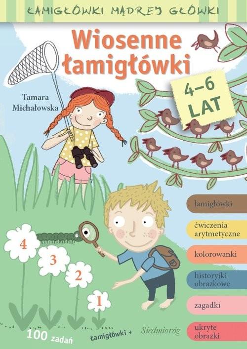 okładka Wiosenne łamigłówki, Książka | Tamara Michałowska