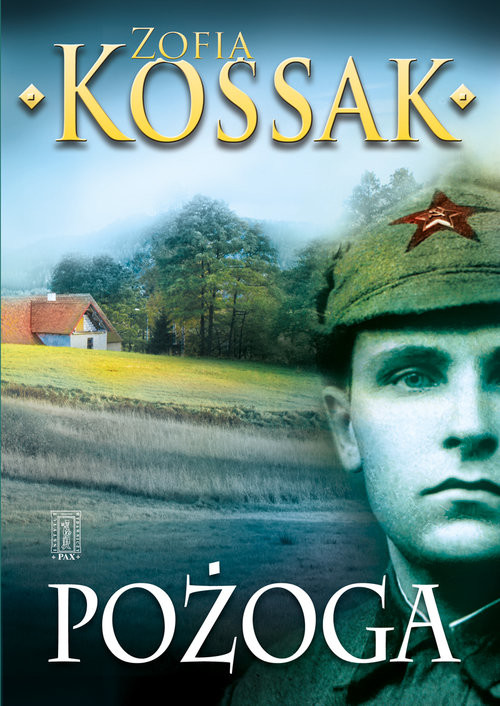 okładka Pożoga, Książka | Zofia Kossak