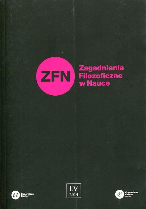 okładka Zagadnienia Filozoficzne w Nauce nr 55książka     