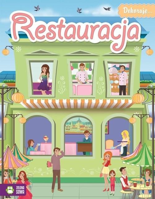 okładka Dekoruję restauracja, Książka | Praca Zbiorowa