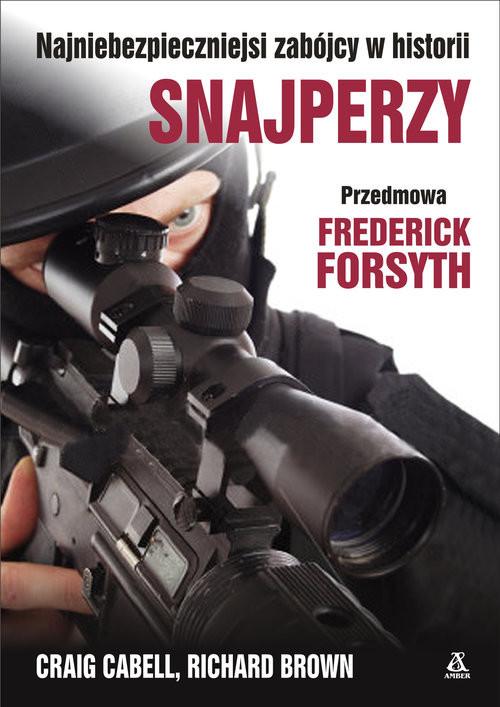 okładka Snajperzy, Książka | Craig Cabell, Richard Brown