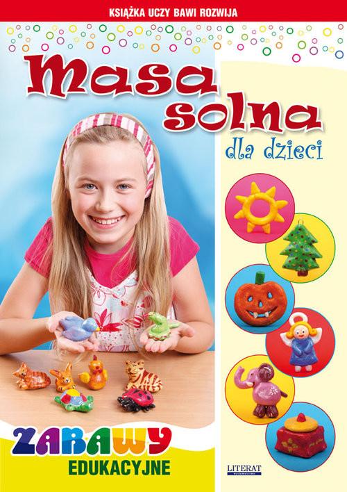 okładka Masa solna dla dzieci Zabawy edukacyjne, Książka | Beata  Guzowska