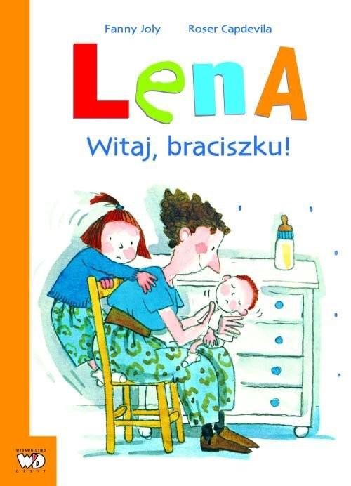 okładka Lena Witaj braciszku!książka |  | Fanny Joly