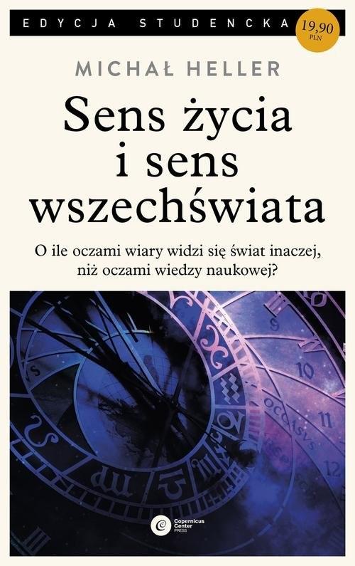 okładka Sens życia i sens wszechświata Studia z teologii współczesnej, Książka | Heller Michał